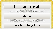 fit for travel certificate travel clinic coventry